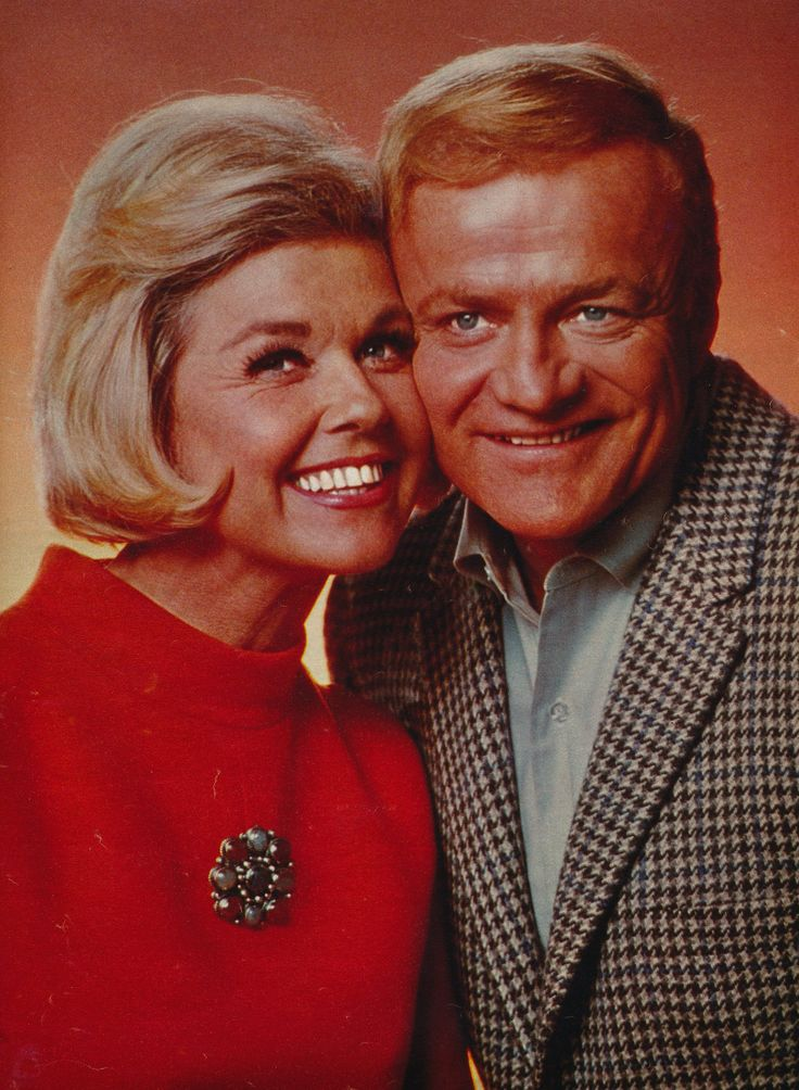 Brian Keith and Doris Day for With Six You Get Egg Roll 1968