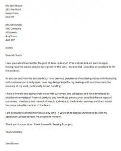 example of a cover letter for a cv