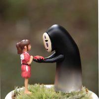 Kaonashi Figurine Spirited Away Faceless Action Figure No Face Chihiro Landscape