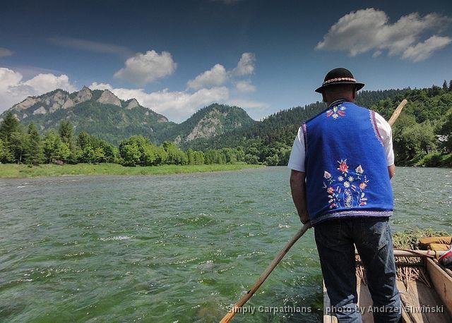 Traditional raftsman costume. Pieniny Mountains, Dunajec River Gorge, #Poland  www.simplycarpathians.com