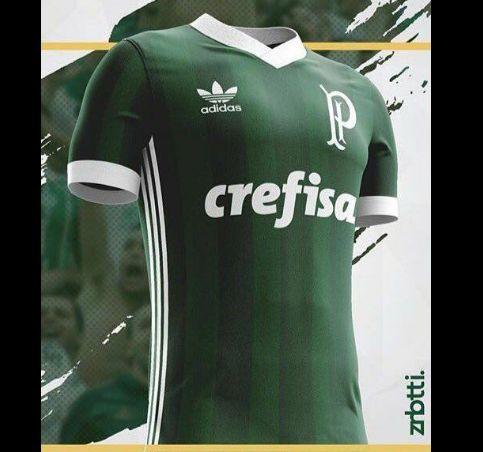 17 camisas do Palmeiras desenhadas por torcedores que poderiam ser oficializadas