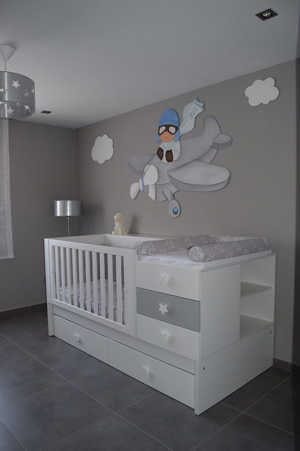 M s de 25 ideas incre bles sobre dormitorio bebe en for Como decorar cuarto de bebe varon