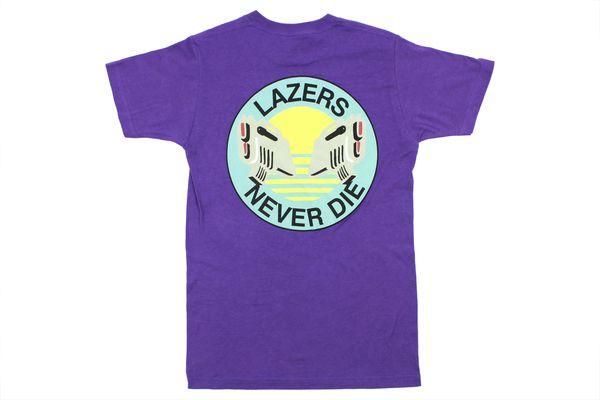 Lazer Surf Lazers Never Die (Purple) T-Shirt | Major Lazer | Mad Decent
