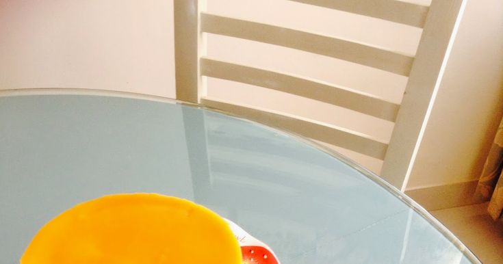 Tejis Kitchen: No Bake Mango Cheese Cake