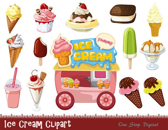 clip art ice cream party - photo #49