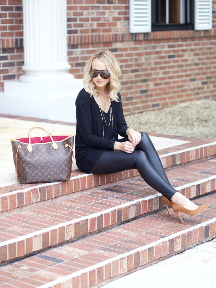 Faux Leather Leggings for Fall...