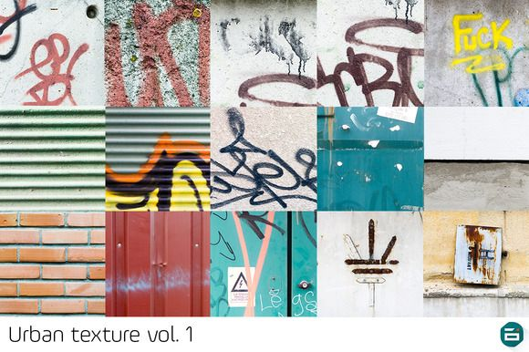 Check out Urban texture bundle vol.1 by Digital Infusion on Creative Market