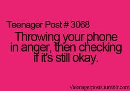teenager post # 3068: Time, Funny Things, Funny Pics, 3068 Teenage Posts, Art Teenage, Diapers Cakes, So True, Teen Posts, Phones