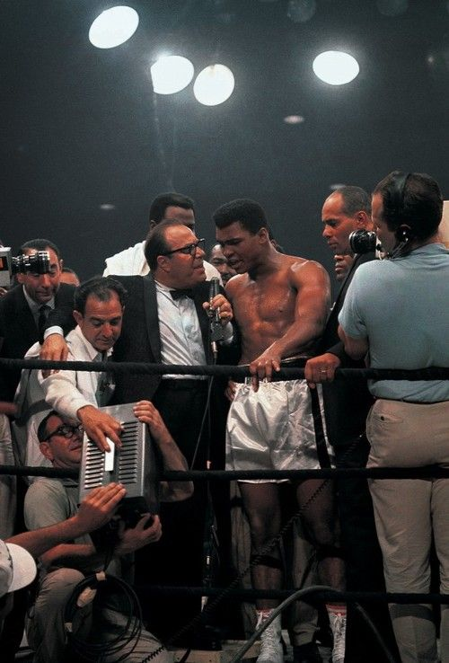 Click the image for history placed and hooked up by Joel York on Muhammad Ali.
