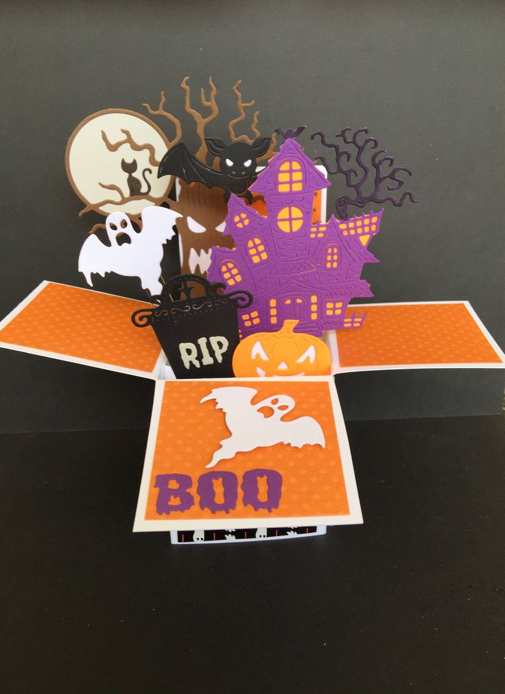 A personal favorite from my Etsy shop https://www.etsy.com/listing/541793529/halloween-pop-up-box-card-gouly-boo-pop