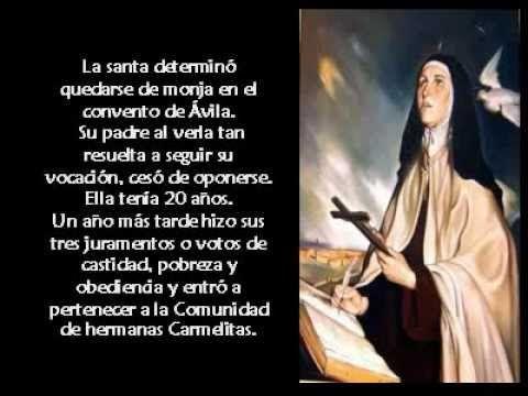 Santa Teresa de Ávila - YouTube