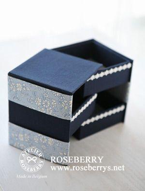 ROSEBERRY DIARY:カルトナージュ 作品