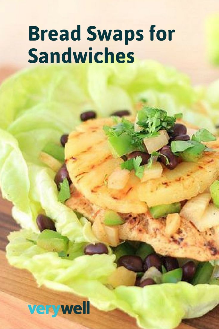 Try these low-carb, low-calorie bread swaps for sandwiches and pack a healthy lunch this week.