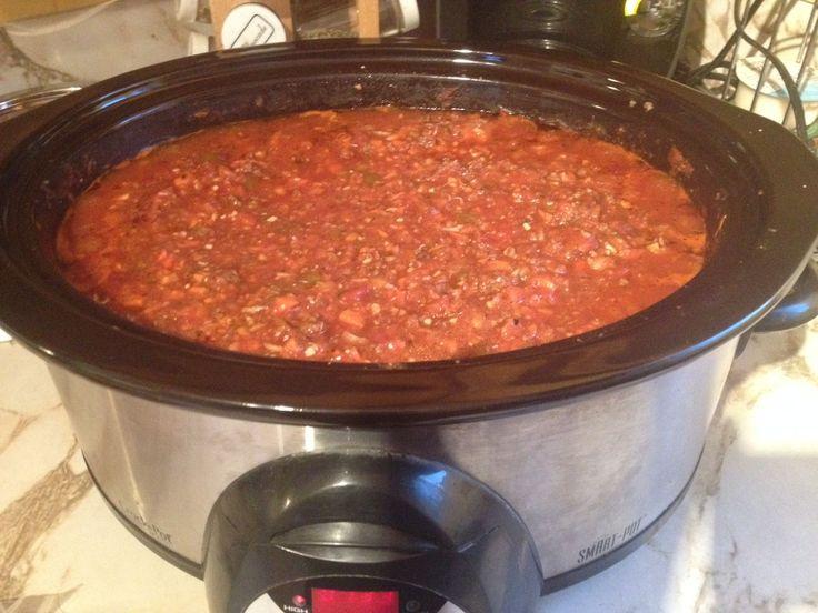 Sauce à spaghetti consistante à la Sonia (mijoteuse) | .recettes.qc.ca