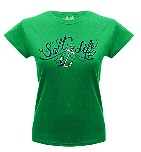 Ogee Anchor Tee Shirt - - Salt Life