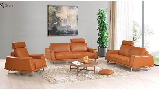Modern Contemporary Leather Sofa