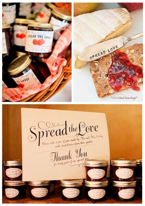 Spread The Love: Jam Favour DIY Tutorial Round Up - Bridal Musings Wedding Blog