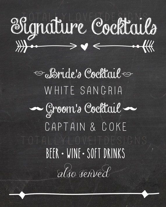 Jack and coke signature drink