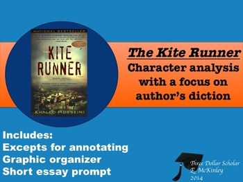 the kite runner response The kite runner, by khaled hosseini, follows the maturation of amir, a male from afghanistan who needs to find his way in the world as he realizes that his own.