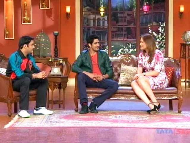 The comic side of Jwala Gutta and Vijender Singh http://www.ndtv.com/video/player/news/the-comic-side-of-jwala-gutta-and-vijender-singh/315219