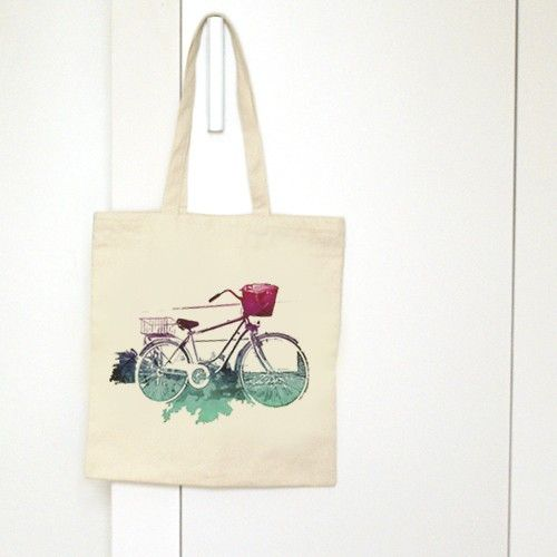 torby na zakupy - damskie-Torba w rower