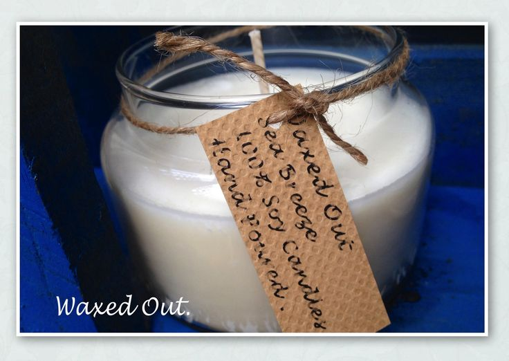 ……. Sea Breeze ……  Frangrance Oils & Essential Oils of peppermint , sandalwood . lily & rose .   Candles: Each Jar holds approximately 270grams of white natural  soy wax and has an approximate burn time of 40 hrs +   All candles are made fresh to order so that they arrive to you as fresh as possible And are hand poured with love .   Each Candle is $16.50 or 2 for $26.00  https://www.facebook.com/Perfect.scentz #soycandles #soy #homedecor #bathroom#candles #soywax #candles