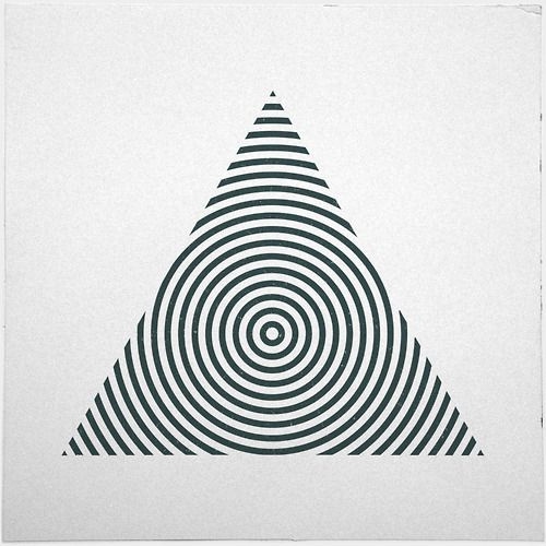 #yearofpattern black and white triangle