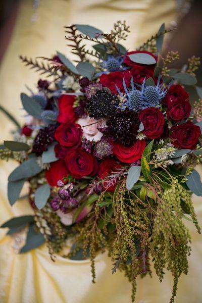 Un mariage d'inspiration conte de fées avec ce shooting La Belle et la Bête ! Image: 8