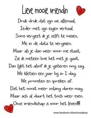 Bekijk de foto van Mandiix met als titel Lieve tekst voor een vriendin. Ook mooi voor op een tekstbord,canvas of een kaartje  en andere inspirerende plaatjes op Welke.nl.