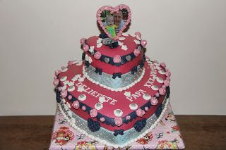 lekker zoet: Een papa (verjaardags) taart van kleine Vayen