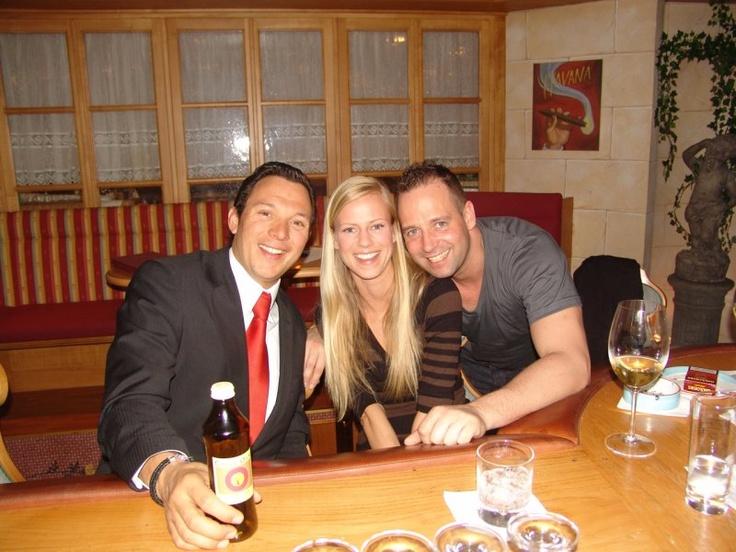 Tom Novy mit Freundin und Daniel Stock