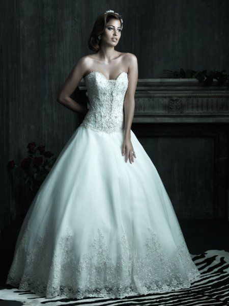 58 best Beautiful Wedding Dresses images on Pinterest | Wedding ...