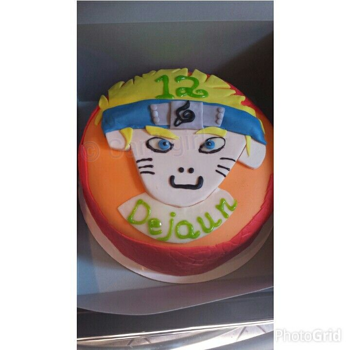 Boruto Anime Cake Designs
