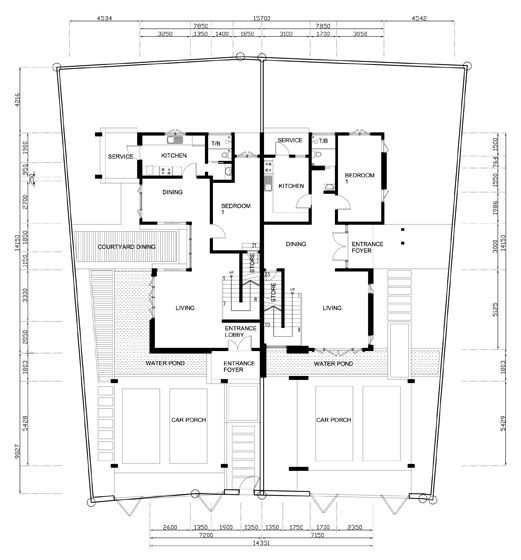 17 best ideas about semi detached on pinterest victorian for Double storey semi detached house floor plan