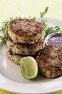 The Prawn and Fish Cakes Look Yummy!