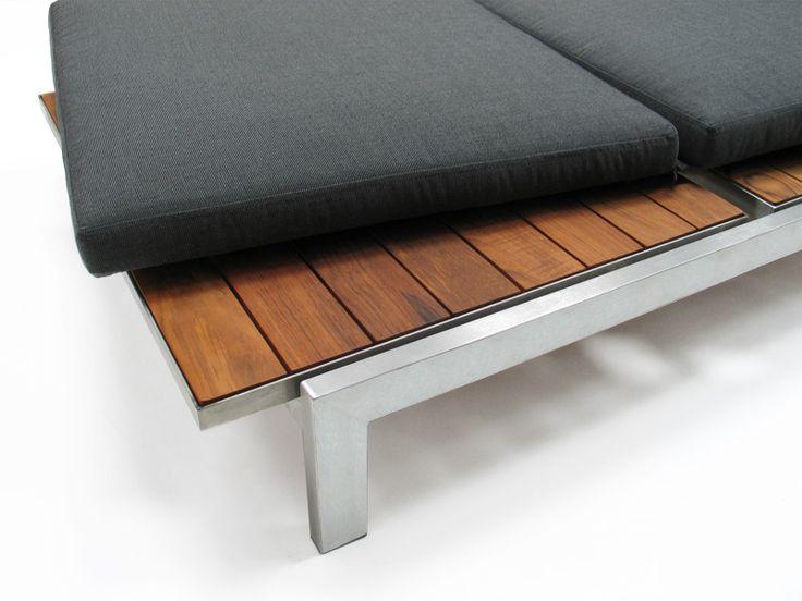 Case Study Stainless Chaise, Brazilian Walnut   Modernica Design Ideas