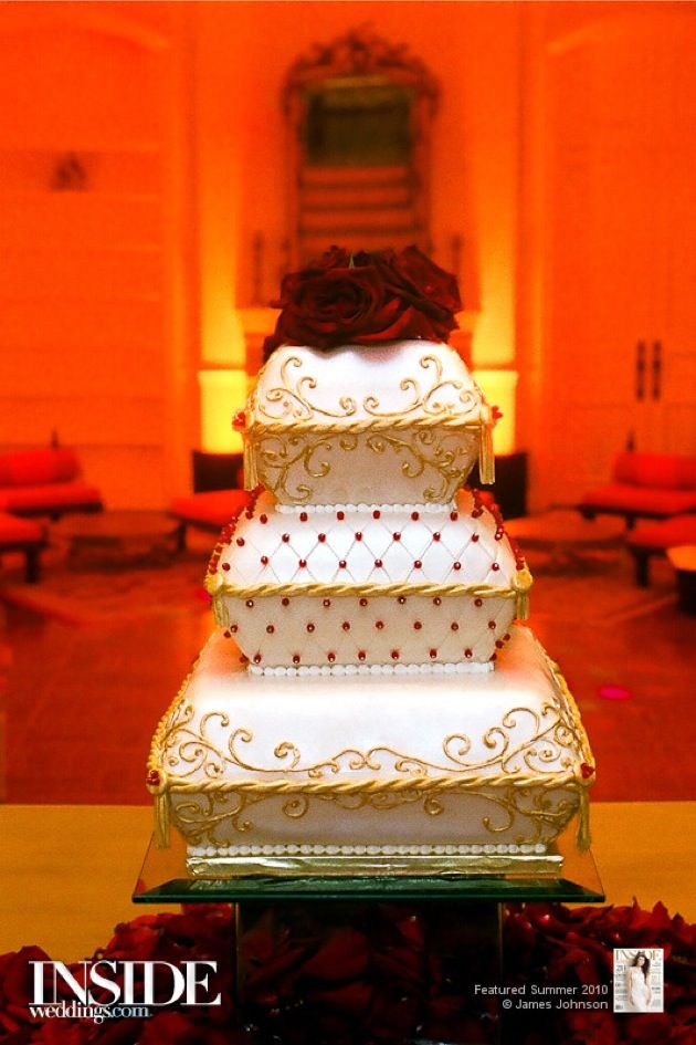 18 Best Images About Orange And Gold Cake On Pinterest
