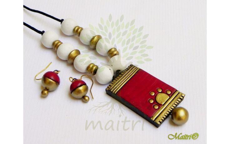 Medium Size Terracotta Sets & Necklaces