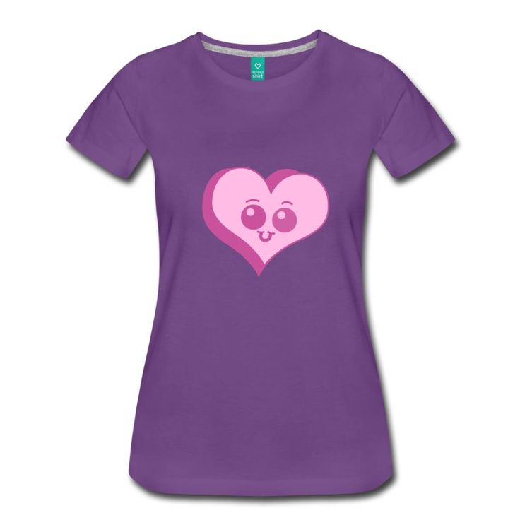 Chibi Candy Heart shirt  #spreadshirt #shirts #tshirts #tops #hearts #chibi #cartoon #graphic #kawaii #drawing #cute
