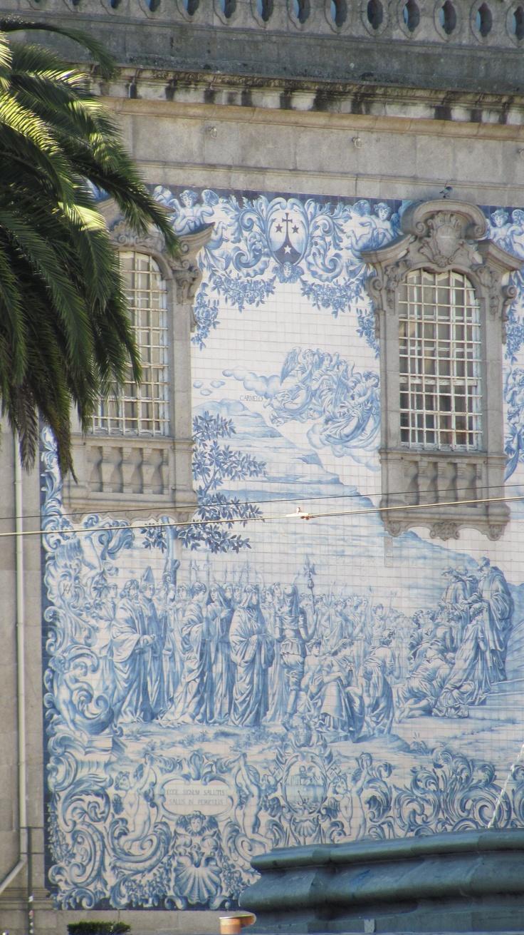 Fachada da Igreja do Carmo, Porto