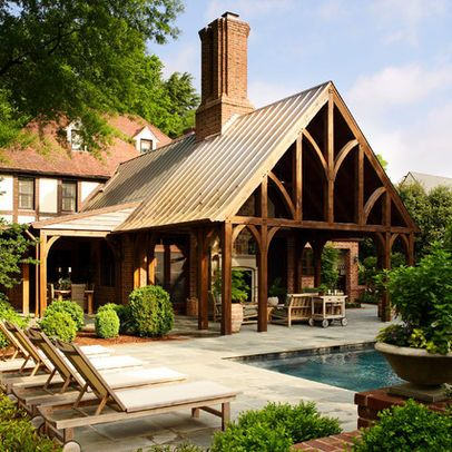 metal building with gable porch design ideas pictures remodel and decor page - Metal Building Design Ideas