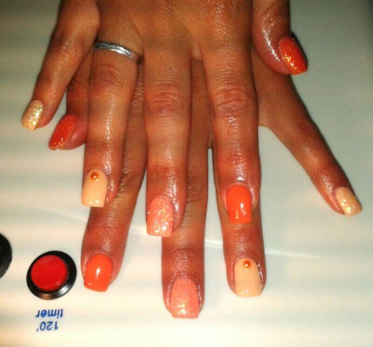 Arancio Glitter