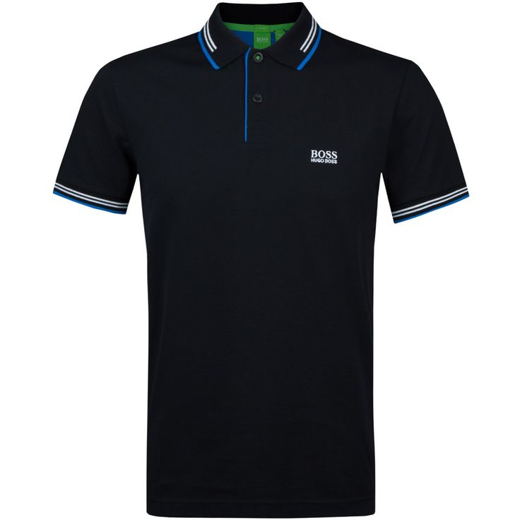 A young and fresh take on a classic, the tipped polo. A mdern polo with banded sleeves and contrast inside placket for added detail. Perfect for both on and...