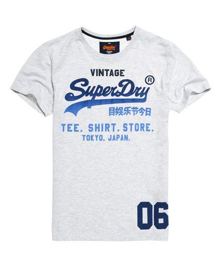 Superdry Shirt Shop Fade T-shirt  Grey