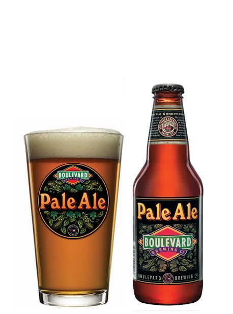 Boulevard Pale Ale is a smooth, fruity, well-balanced beer with year-round appeal. A variety of caramel malts impart a rich flavor and amber color, while liberal use of whole hops adds zest and aroma. Pale Ale is the first beer we brewed, and continues to be a perennial favorite.