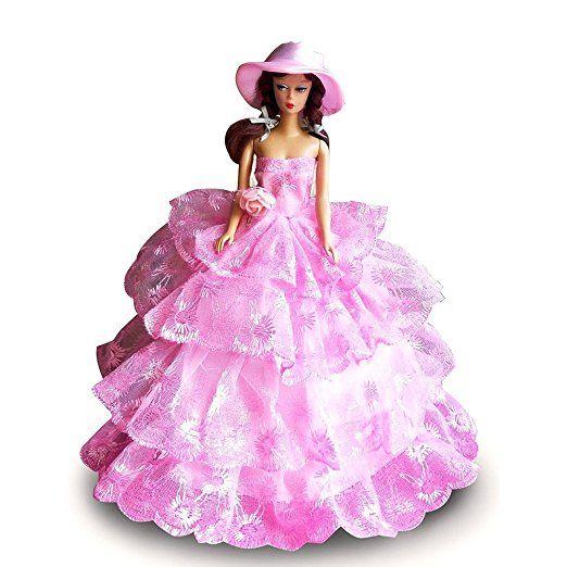 Creation® Abito Rosa Moda Principessa del partito / abiti da sera / Abito per la bambola
