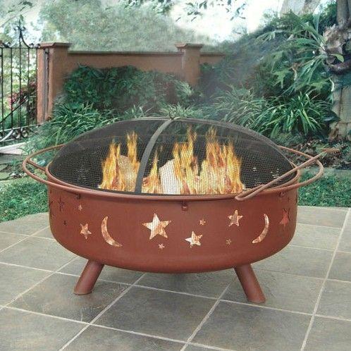 Super Sky Steel Wood Burning Fire Pit