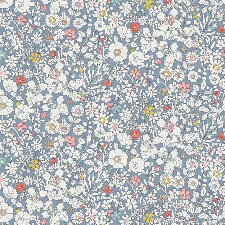 Liberty Tana Lawn Fabric June's Meadow F - Alice Caroline - Liberty fabric, patterns, kits and more - Liberty of London fabric online