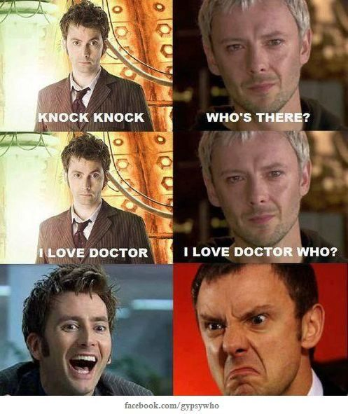BOOM a million million points to the whovians.