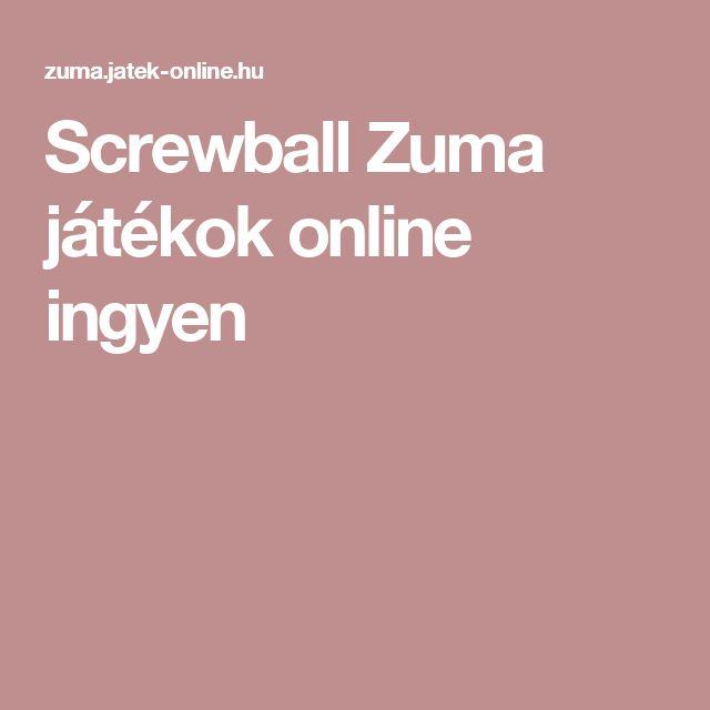 Screwball  Zuma játékok online ingyen